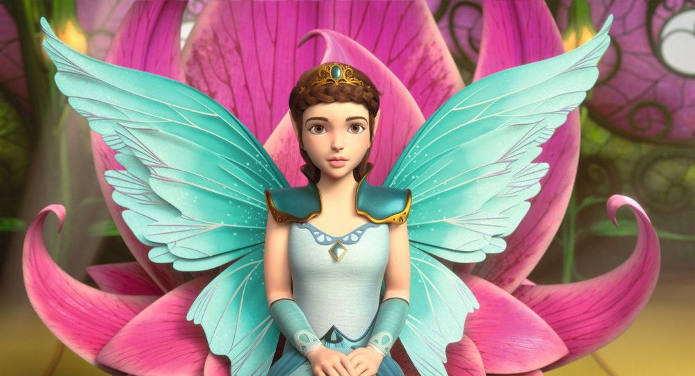 Die junge Königin Eyela, die Schwester von Surah und Sera, soll gekrönt werden.
