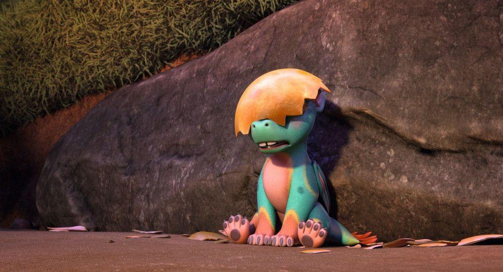 Das Drachenbaby Nugur gewinnt schnell die Herzen der jungen Zuschauerinnen.