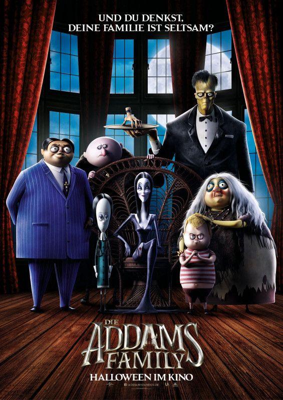 Sie ist zurück! Die aus Cartoons, Film und Fernsehen bekannte Addams Family taucht nun in einer Animationskomödie auf.