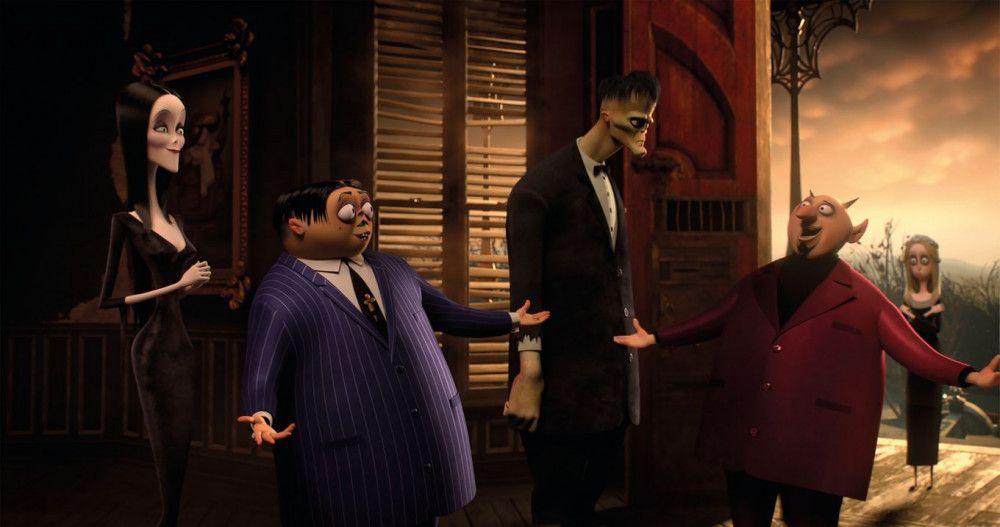 """""""Die Addams Family"""" basiert auf Comics aus den 1930er-Jahren."""