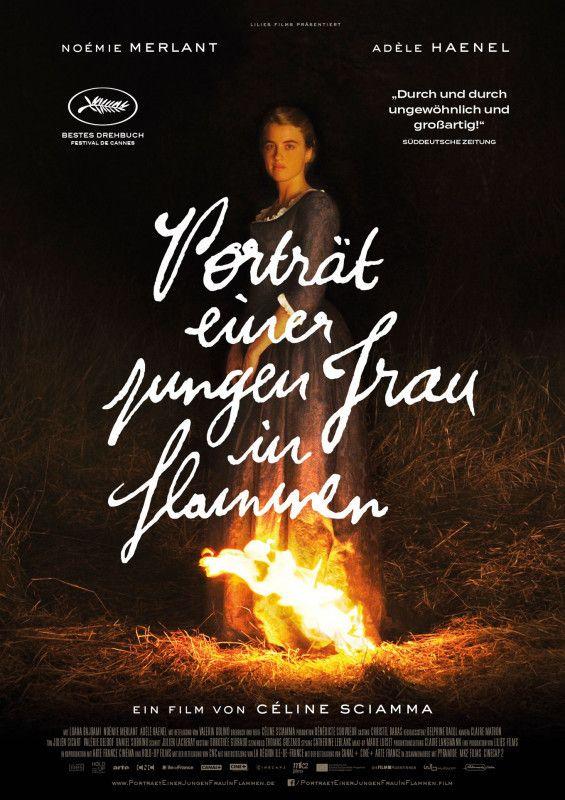 """""""Porträt einer jungen Frau in Flammen"""" gewann in Cannes den Preis für das beste Drehbuch und die Queer Palm."""