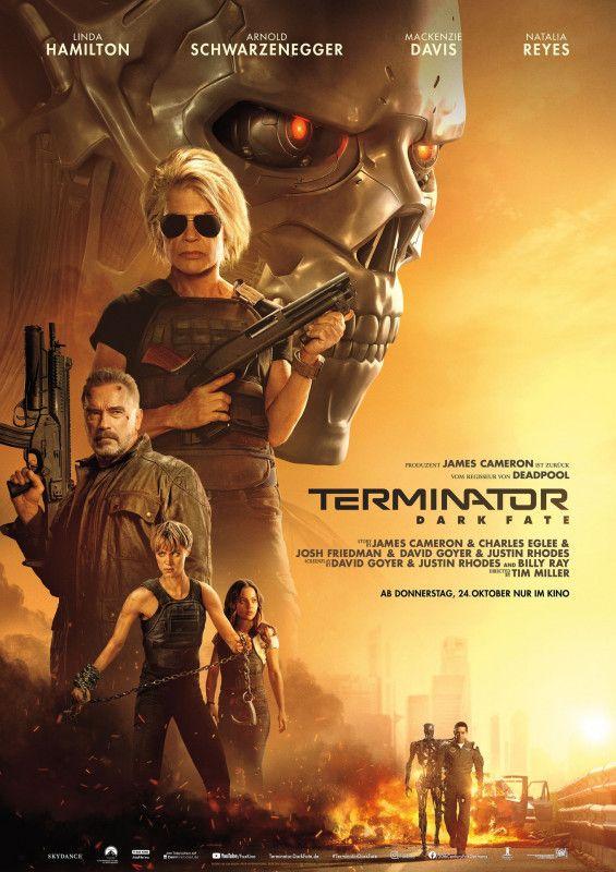 """""""Terminator: Dark Fate"""" ist die direkte Fortsetzung zu James Camerons """"Terminator 2"""" aus dem Jahr 1991."""