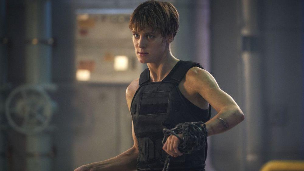 Grace (Mackenzie Davis) kommt aus der Zukunft, um Dani zu beschützen.