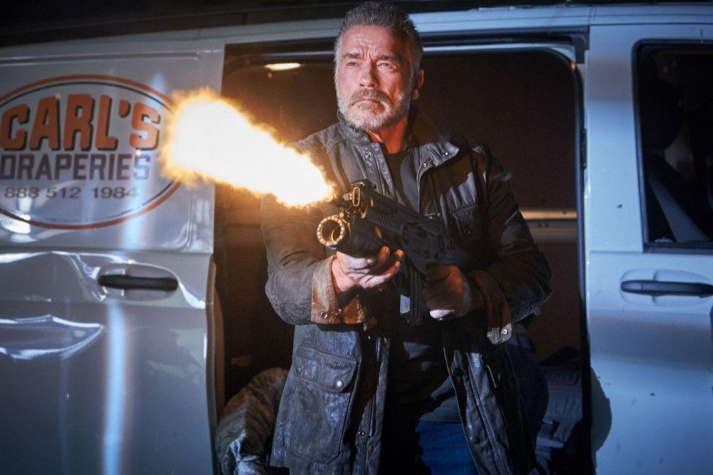 Auch mit 72 Jahren macht Arnold Schwarzenegger eine gute Figur als Terminator.