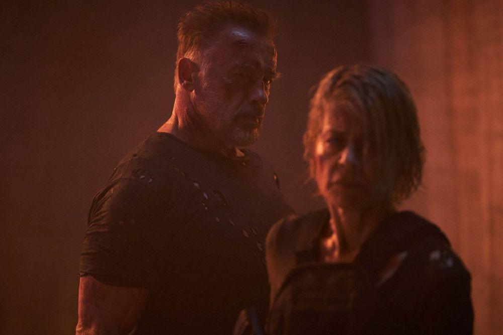 """""""Terminator: Dark Fate"""" ist auch ein Zusammentreffen von Arnold Schwarzenegger und Linda Hamilton."""