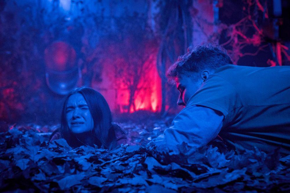 Kann Evan (Andrew Caldwell) Harper (Katie Stevens) aus ihrer misslichen Lage befreien?