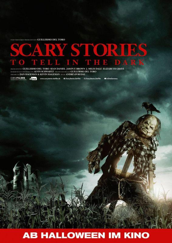 """Nicht nur eine unheimliche Vogelscheuche versetzt die Protagonisten von """"Scary Stories to Tell in the Dark"""" in Angst und Schrecken."""