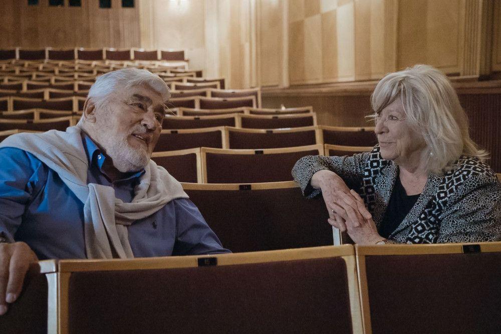 """Mit Margarethe von Trotta drehte Mario Adorf 1975 die Böll-Verfilmung """"Die verlorene Ehre der Katharina Blum""""."""