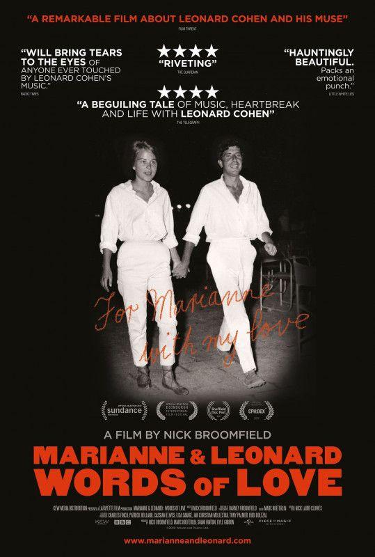 """""""Marianne & Leonard - Words of Love"""" erzählt eine der bekanntesten Liebesgeschichte der Musikwelt."""