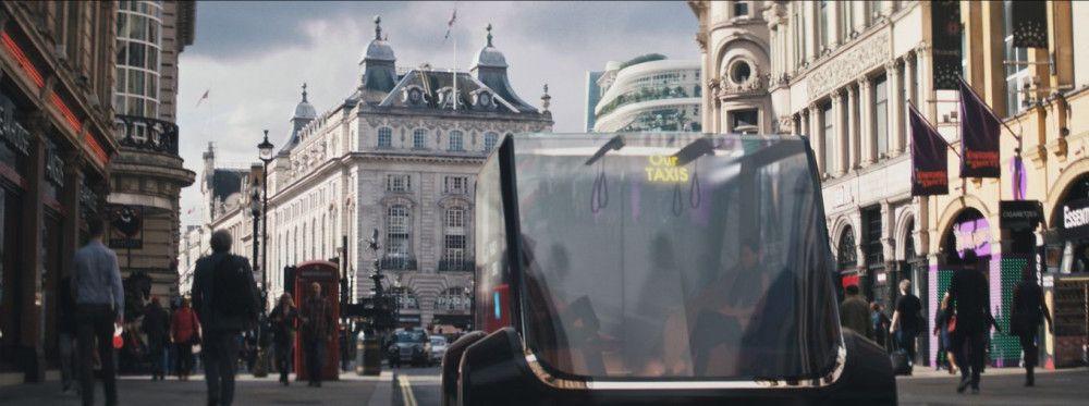 Mit dem autonomen Sammeltaxi zum Ziel - sieht so die Zukunft der Mobilität aus?
