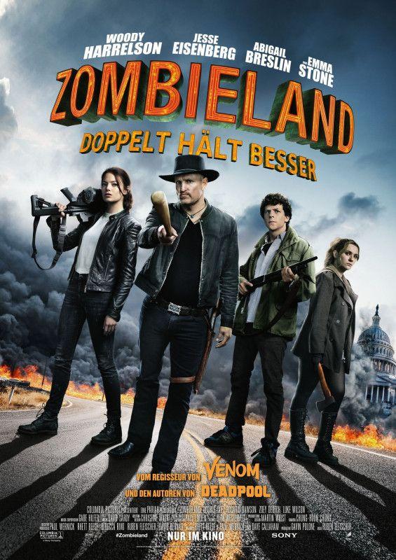 """Die Gang aus der spaßigen Horrorkomödie """"Zombieland"""" kehrt zurück und nimmt es erneut mit blutrünstigen Bestien auf."""