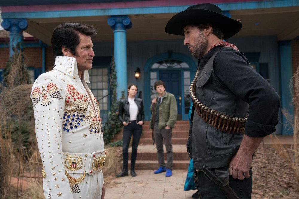 Der große Elvis-Fan Tallahassee (Woody Harrelson, links) wird mit dem lässigen Albuquerque (Luke Wilson) nicht warm.