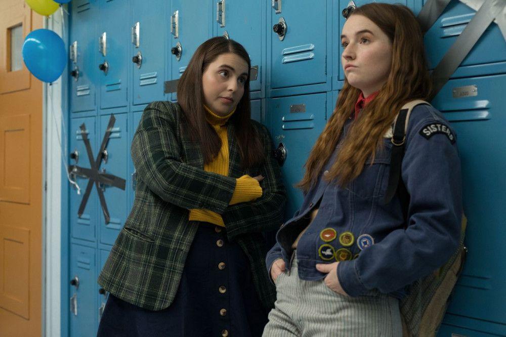 Die beiden Freundinnen Molly (Beanie Feldstein, links) und Amy (Kaitlyn Dever) haben gute Noten. Spaß haben sie allerdings eher nicht.