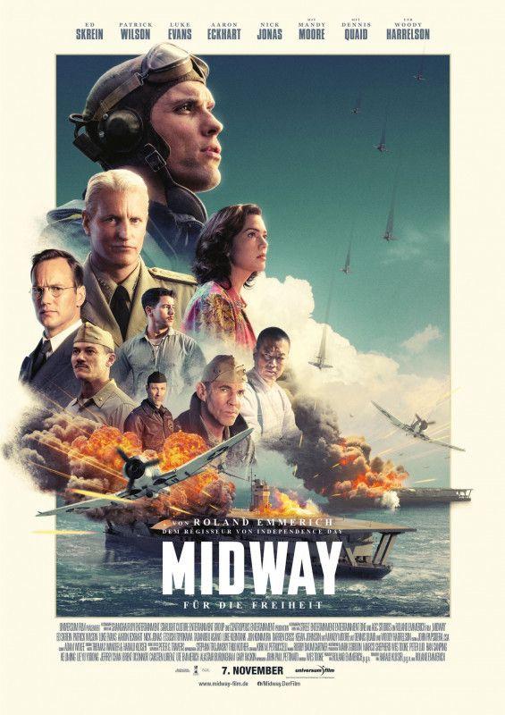 """""""Midway - Für die Freiheit"""" erzählt von der Entscheidungsschlacht im Pazifikkrieg und dem langen Weg dorthin."""