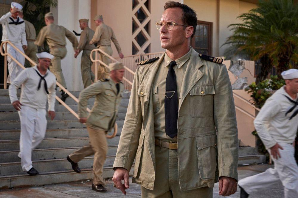 Marinenachrichtendienstoffizier Edwin Layton (Patrick Wilson) ist vom Angriff auf Pearl Harbor schockiert, aber er hatte damit gerechnet.