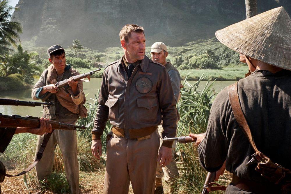 Jimmy Doolittle (Aaron Eckhart) musste in China notlanden.