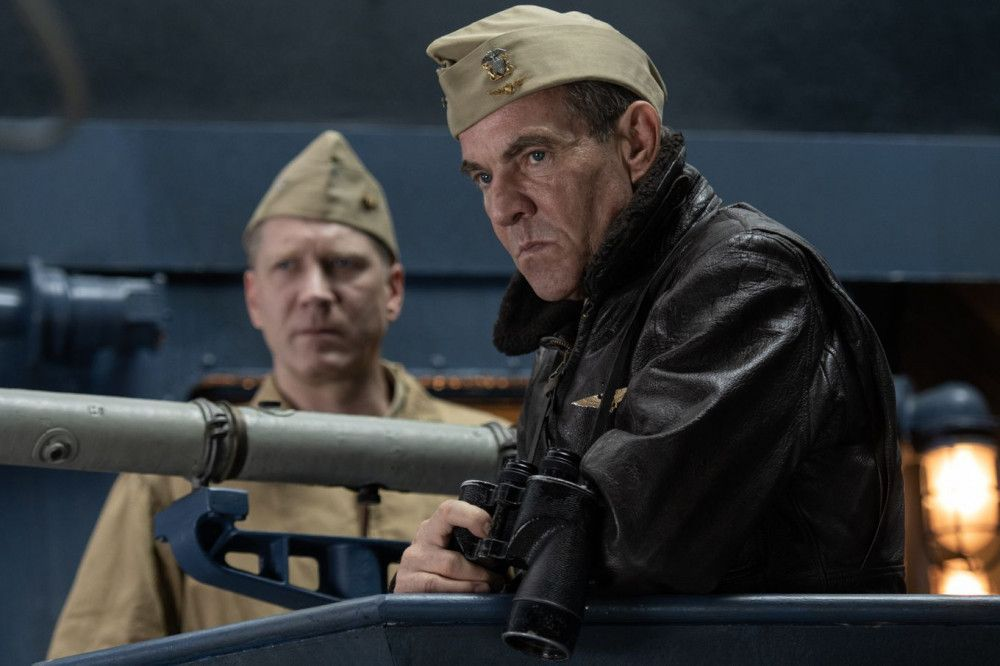 """Kommandant William """"Bull"""" Halsey (Dennis Quaid) scheut keine Gefahr."""