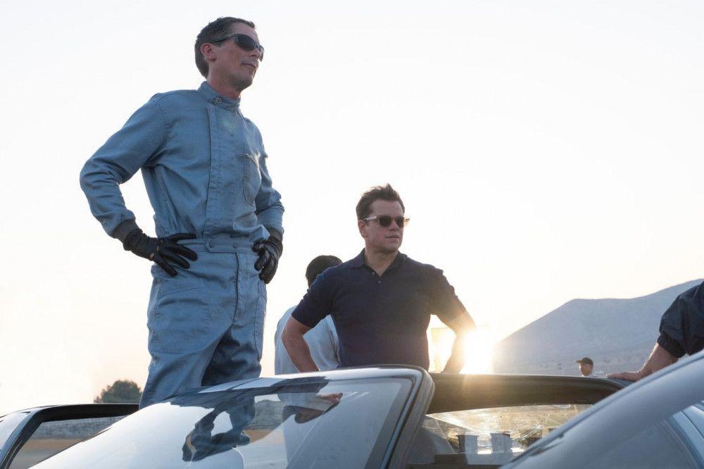 Ken Miles (Christian Bale, links) und Carroll Shelby (Matt Damon) sind ein ungleiches Team, haben aber ein gemeinsames Ziel.