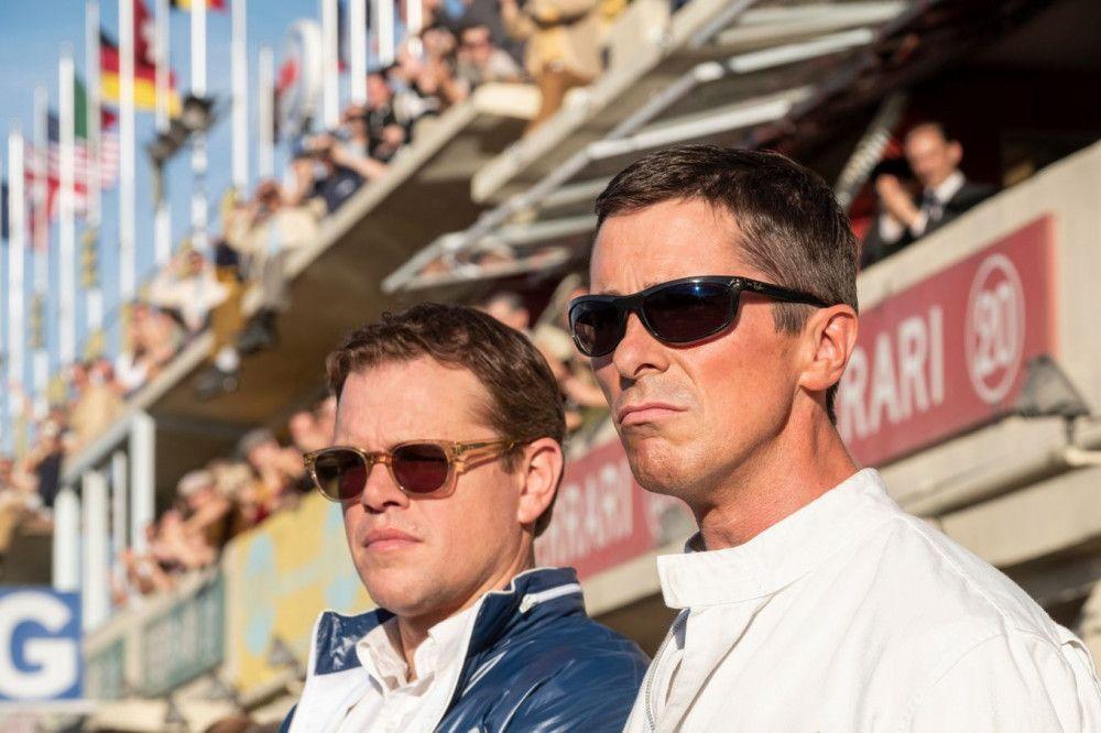 Carroll Shelby (Matt Damon, links) und Ken Miles (Christian Bale) beim Rennen von Le Mans: Die härtesten 24 Stunden ihres Lebens beginnen.