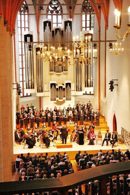 In Halle/Saale finden die kleinen Händel-Festspiele statt.