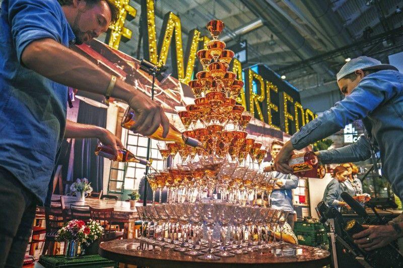 """Beim Foodfestival """"Eat & Style"""" geht es nicht nur ums Essen, sondern auch ums Trinken."""