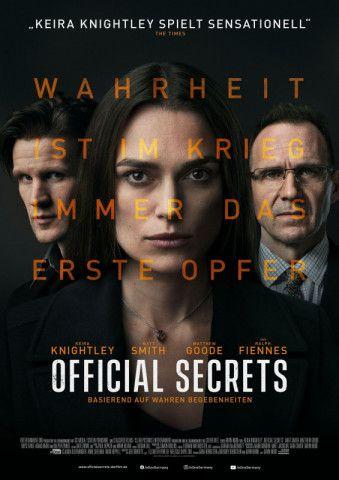 """""""Official Secrets"""" ist ein Politthriller, der zwar im Jahr 2003 spielt, aber aktueller kaum sein könnte."""