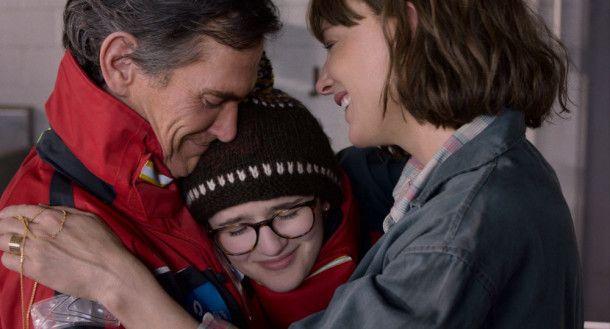 Bernadette (Cate Blanchett), ihr Mann Elgie (Billy Crudup) und ihre Tochter Bee (Emma Nelson) suchen immer wieder aufs Neue nach dem Glück.