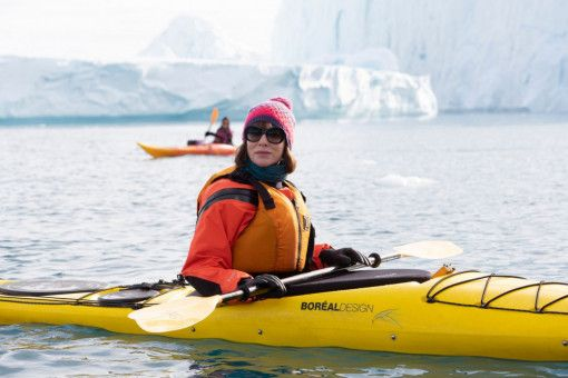 Eines Tages verlässt Bernadette (Cate Blanchett) ihre Familie und macht sich alleine auf den Weg Richtung Südpol.