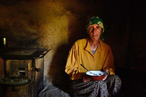 Hatidze führt ein einfaches Leben in einem abgeschiedenen Dorf in Nordmazedonien.