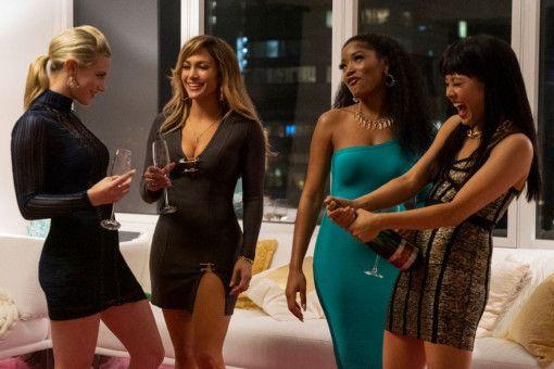 Annabelle (Lili Reinhart), Ramona (Jennifer Lopez), Mercedes (Keke Palmer) und Destiny (Constance Wu, von links) haben ein neues Geschäftsmodell: Sie rauben Männer aus.