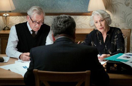 Fast am Ziel: Roy (Ian McKellen, links) und Vincent (Jim Carter) scheinen Betty (Helen Mirren) dort zu haben, wo sie sie haben wollen.