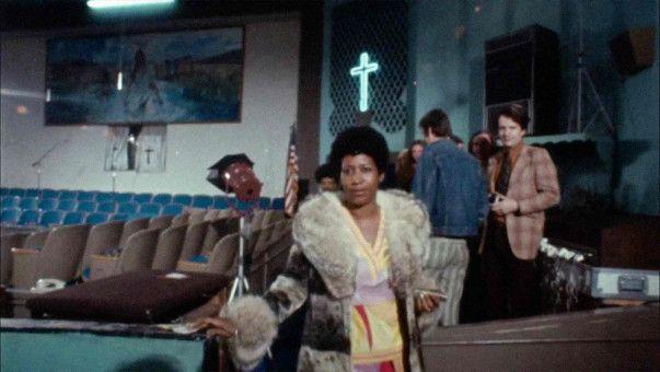 """Aretha's in the building: Ihr Album """"Amazing Grace"""" wurde 1972 in der New Temple Missionary Baptist Church, Los Angeles, aufgenommen."""
