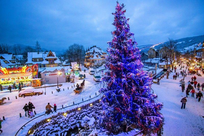 Lebhaft und schick: Zakopane ist die Wintersporthauptstadt Polens.