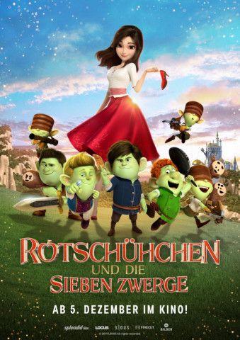 """Die Geschichte rund um """"Rotschühchen und die Sieben Zwerge"""" beinhaltet nicht nur zahlreiche bekannte Märchen, sondern beschäftigt sich auch mit der Frage nach innerer und äußerer Schönheit."""
