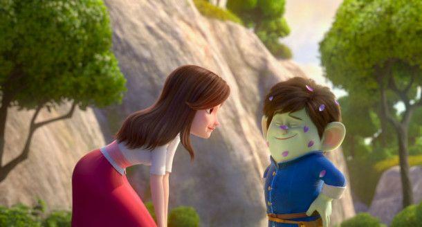 Merlin ist schockverliebt in Rotschühchen. Doch er ahnt nicht, was sie für ein Geheimnis vor ihm verbirgt.