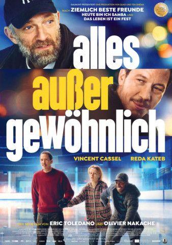 """Die """"Ziemlich beste Freunde""""-Regisseure Éric Toledano und Olivier Nakache haben mit """"Alles außer gewöhnlich"""" ein engagiertes Sozialdrama gedreht."""