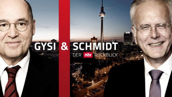 Gregor Gysi und Harald Schmidt sind in Sachen Jahresrückblick bei n-tv mittlerweile ein eingespieltes Team.
