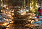 """Der """"Waldadvent"""" in Bad Feilnbach stimmt auf Weihnachten ein."""