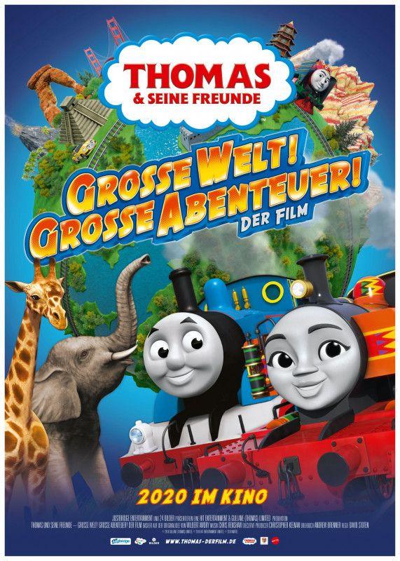 """""""Thomas & seine Freunde - Große Welt! Große Abenteuer!"""" basiert auf englischen Kinderbüchern aus den 40er-Jahren."""