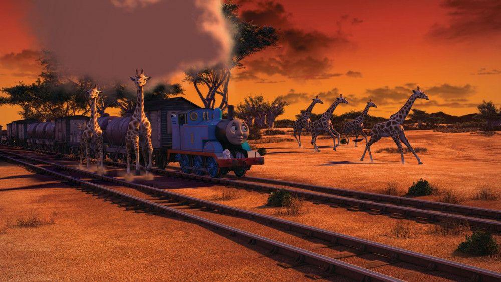 Auch in Afrika erlebt Thomas spannende Abenteuer.