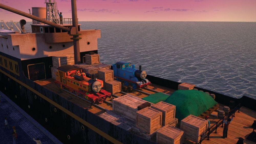 Gemeinsam reisen Thomas und Nia um die Welt - zur Not auch auf einem Schiff.