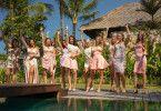 """Das sind die zwölf Single-Frauen, die in der zweite Staffel von """"Temptation Island"""" den vergebenen Männern den Kopf verdrehen sollen."""