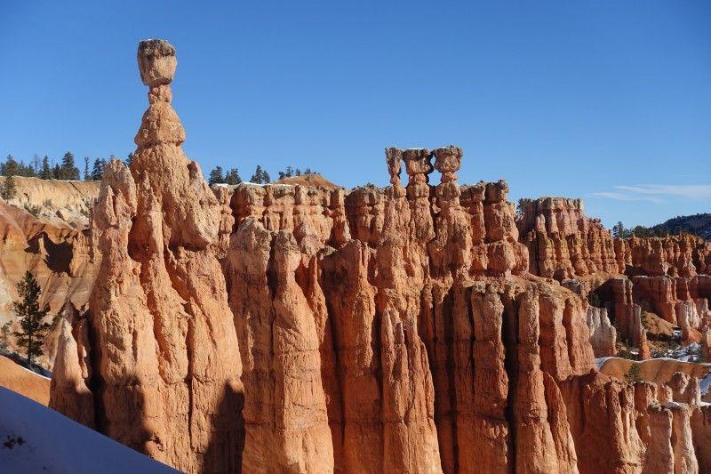 Menschen oder Fabelwesen? Die Sandstein-Türme im Bryce Canyon regen die Fantasie an.