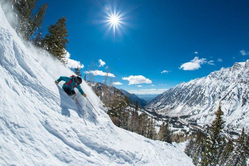 """Skifahrer und Snowboarder finden in Utah """"The Greatest Snow on Earth"""", den besten Schnee der Welt, versprechen die Tourismus-Experten."""