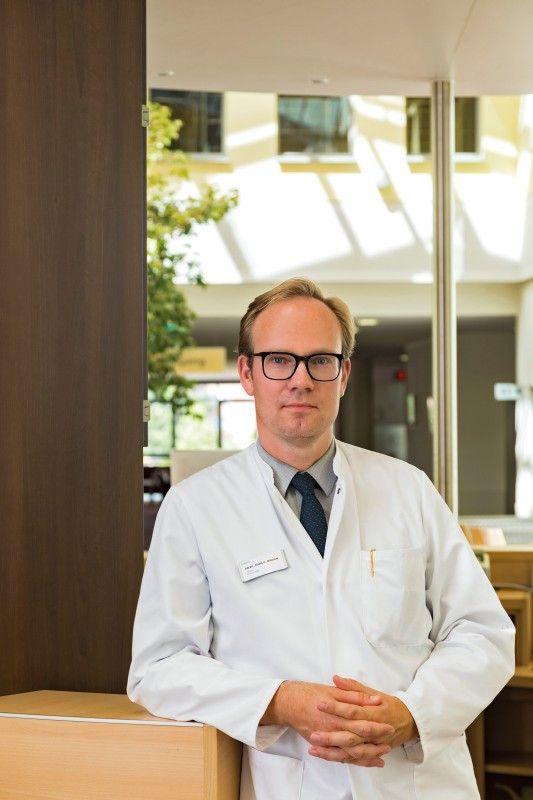 Dr. Alexander Blödow, Chefarzt Helios Klinikum Pirna