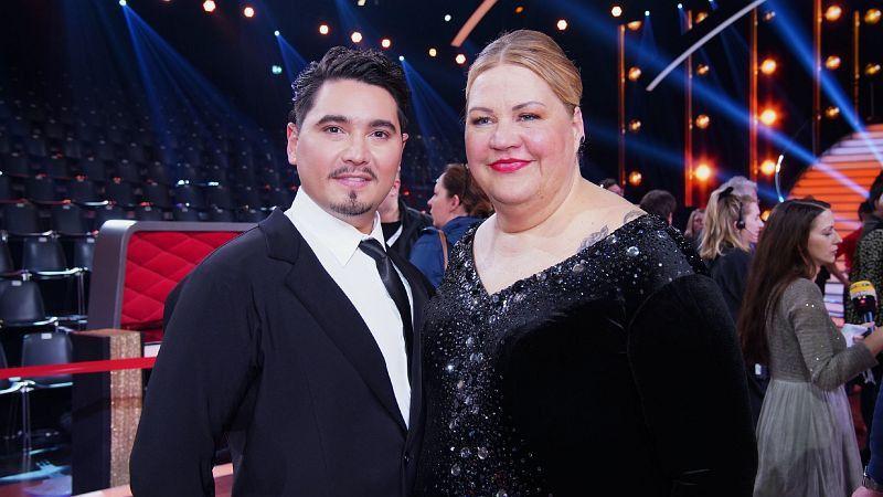 """Ilka Bessin, die ihre Kunstfigur """"Cindy aus Marzahn"""" zu Hause gelassen hat, tanzte mit Erich Klann. <b>Raus in Show 10.</b>"""