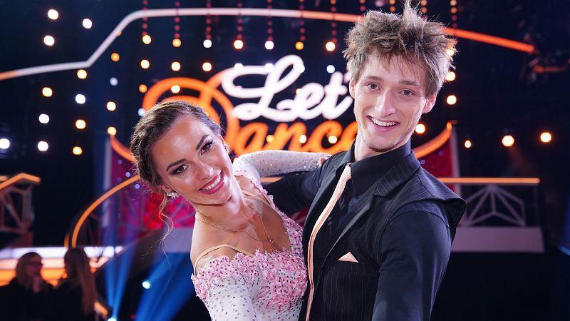 Ninja Warrior Moritz Hans tanzte mit Renata Lusin bis ins Finale. <b>Platz 2 im Finale.</b>