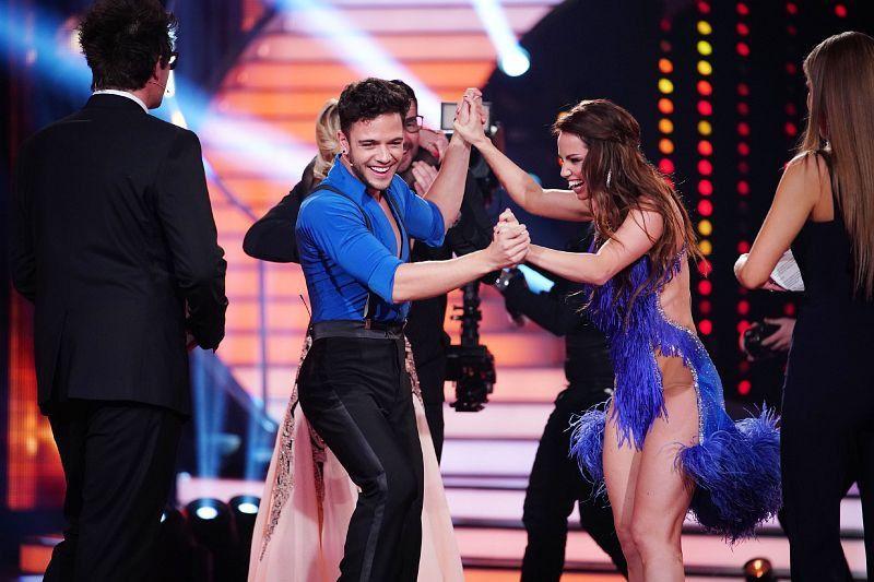 Der Schweizer Sänger Luca Hänni nahm die Sache etwas ernster als der letzte Partner von Christina Luft: Sie tanzte 2019 mit Oliver Pocher. <b>Platz 3 im Finale.</b>