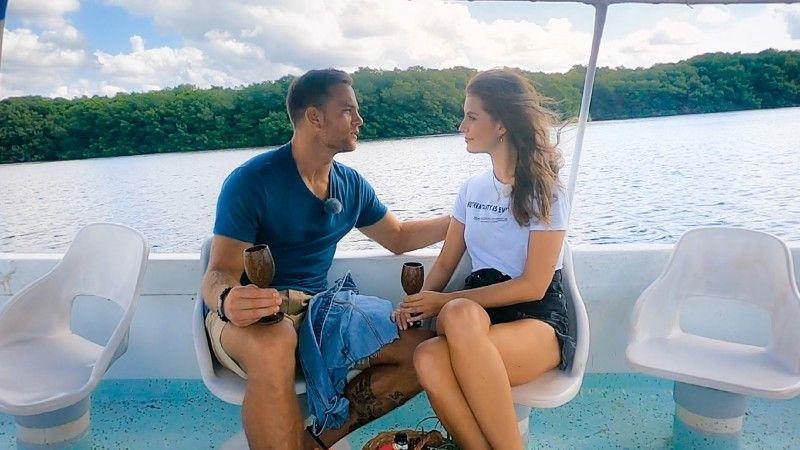 Zuvor verbringen die beiden eine gemeinsame Bootstour.
