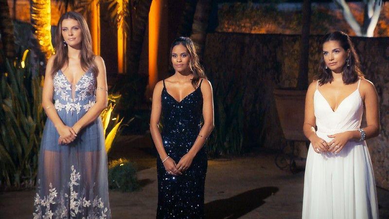 """Hat Wio trotz des verpatzten Dates noch eine Chance auf das Finale? Wer bekommt die zwei Rosen? Der """"Bachelor"""" muss sich entscheiden."""